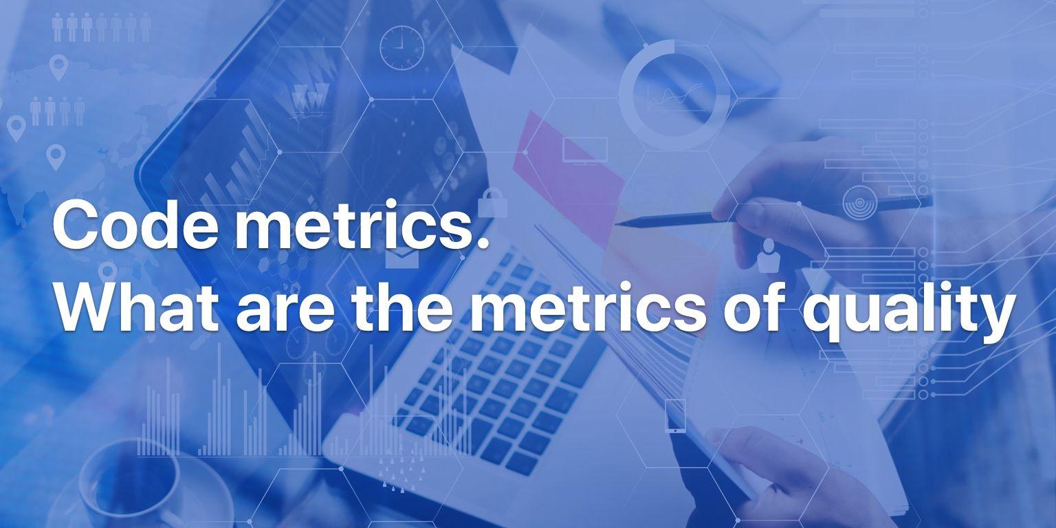 Code quality metrics
