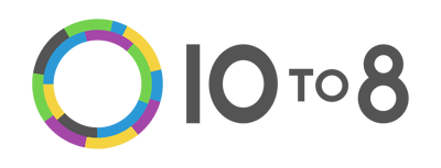 10 to 8 logo