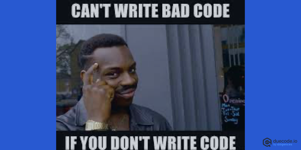 I will not write any more bad code meme
